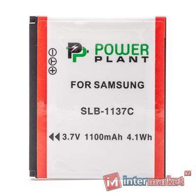 Аккумулятор PowerPlant Samsung SLB-1137C 1100mAh