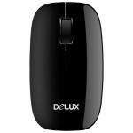 Мышь Delux DLM-110OGB, (Чёрный)