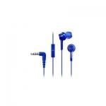 Наушники-вкладыши проводные Panasonic RP-TCM115GCA (синий)