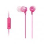 Наушники Вставные Sony MDR-EX15AP, Pink