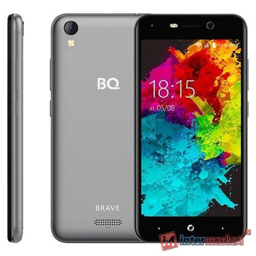 Смартфон BQ BQ-5008L Brave Gray