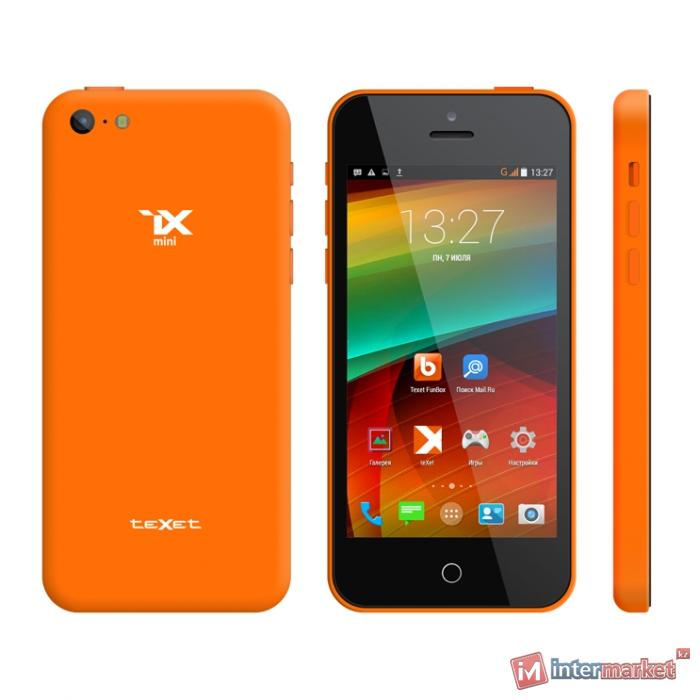 Смартфон TeXet iX-mini, Orange