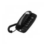 Телефон проводной Texet TX-238 чёрный