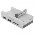 USB HUB 4-port USB 3.0 Orico MH2AC-U3, Silver